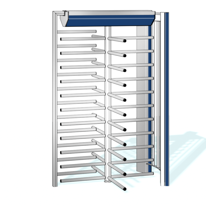 Hohe drehkreuze Kentaur FTS-L06 von dormakaba: Vertrieb, Montage, Wartung RSD access systems