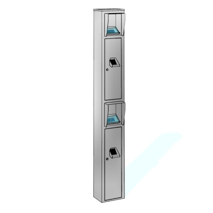 Leserstandsäulen CRP-M03 von dormakaba: Vertrieb, Montage, Wartung RSD access systems